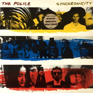 Police ‎(The) - Synchronicity (LP) (VG-/VG) (2)